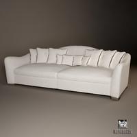 sofa lester visionnaire 3d model