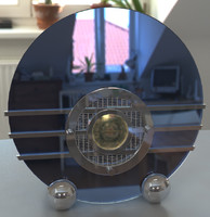 Bluebird Art Deco Radio