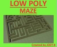 3d model of maze