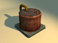 maya oil tank