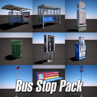 Bus Stop Pack