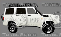 UAZ offroad car color