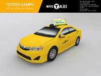 new york taxi toyota 3d 3ds