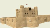 3d citadel qaitbay model