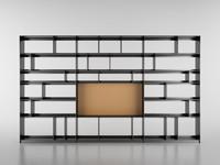 b bookcase 10 – 3d model