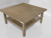 Ikea Hemnes Coffee Table (90 x 90 inch)