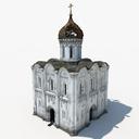 russian orthodox church 3D models