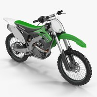 3d model of kawasaki kx250f 2015
