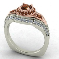 3d 3dm diamond ring vintage