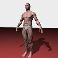 body male 3d model