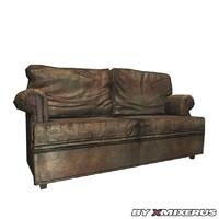 old sofa 3d model