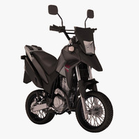 honda xre 300 cartoon 3d max