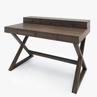 greydon desk 3d model