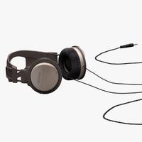 3d model headphones sony