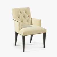 3d baker st germain arm chair model