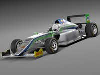 3d model 2014 formula 4