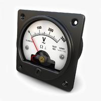 ac voltmeter 3d model