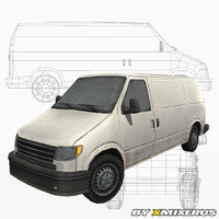 van ready games 3d blend