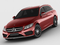 Mercedes C Class estate 2014 AMG package