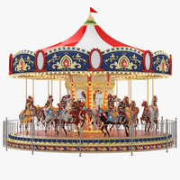 carousel design 3ds