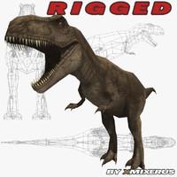 dinosaur rigged max