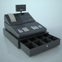 cash register 3d ma