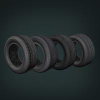 tire 3d max