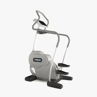 3d model technogym stepper
