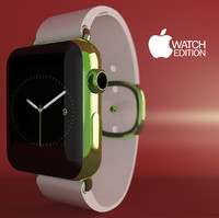 3ds max apple watch edition