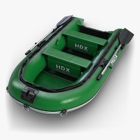 3d inflatable boat 2 model
