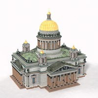 3d isaac s cathedral model
