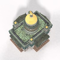 isaac s cathedral 3d model