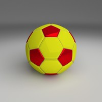 3d football foot ball model