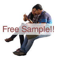 Arab young couple free sample