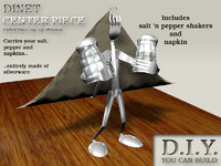 3d 3ds craft silverware