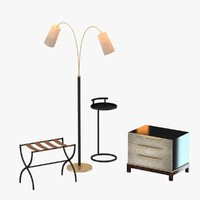 furniture set table floor lamp max