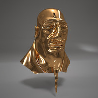 max pharaoh gold head character man