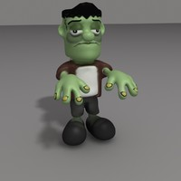 frankenstein cartoon max