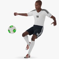 soccer player character rigged 3d max