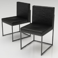 calligaris dining chair 3d max