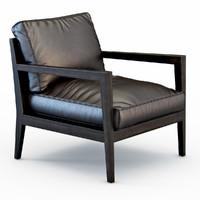 camilla armchair 3d max