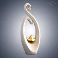 figurine heart gold nn112 3d max