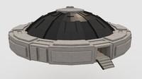 c4d minecraft ufo