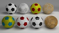 obj classic footballs pack