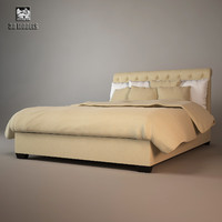 obj baker paris bed