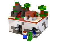 Lego Minecraft - Micro World  - The Forest