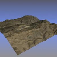 3dsmax terrain ready