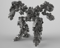 3D Concept Mech - MC1