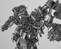 zbrush concept mech - 3d obj