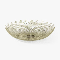 crate barrel starburst bowl 3d max